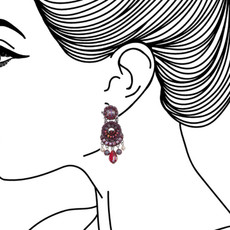 Ayala Bar Ruby Tuesday Cherry Pie Earrings - New Arrival