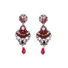 Ayala Bar Ruby Tuesday Merlot Earrings