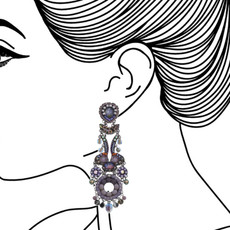Ayala Bar Clear Skies Lavender Fields Earrings - New Arrival
