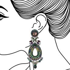 Ayala Bar Summer Lawns Green Goddess Earrings - New Arrival