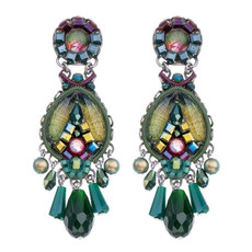 Ayala Bar Summer Lawns Gleaming Grasshopper Earrings - New Arrival