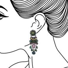 Ayala Bar Summer Lawns Lucky Gem Earrings - New Arrival