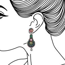 Ayala Bar Summer Lawns Shamrock Earrings - New Arrival