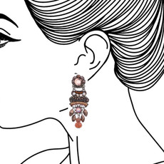 Ayala Bar Mother Earth Beaded Beauty Earrings - New Arrival