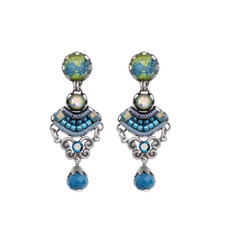 Ayala Bar Coral Cave Sunday Blues Earrings - New Arrival
