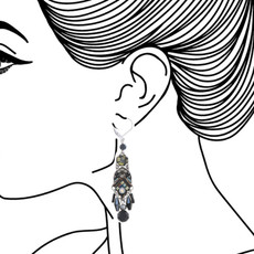 Ayala Bar Festival Night French Wire Earrings - New Arrival