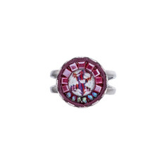 Ayala Bar Ruby Tuesday Adjustable Ring