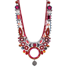 Ayala Bar Crimson Voyage Sip of Sangria Necklace