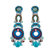Ayala Bar Heavenly Dawn Mermaid Tail Earrings