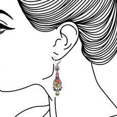 Ayala Bar Unforgettable Fire French Wire Earrings - New Arrival