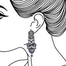 Ayala Bar Blue Planet Amalfi Coast Earrings - New Arrival