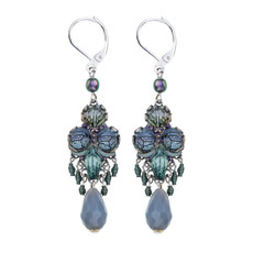 Ayala Bar Blue Planet French Wire Earrings