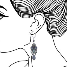 Ayala Bar Blue Planet French Wire Earrings - New Arrival