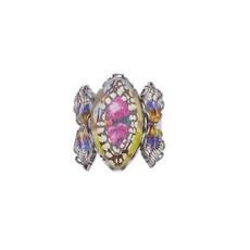 Ayala Bar Unforgettable Fire Secret Azalea Adjustable Ring
