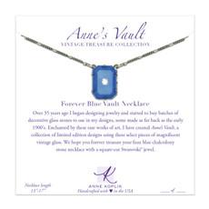 Anne Koplik Forever Blue Vault Necklace