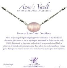 Anne Koplik Forever Rose Vault Necklace