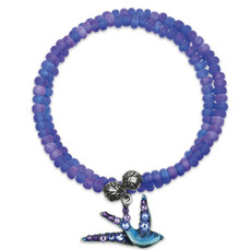 Anne Koplik Bluebird Of Happiness Wrap Bracelet