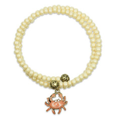 Anne Koplik Crab Waves Wrap Bracelet