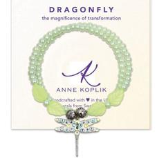 Anne Koplik Dragonfly Transform Wrap Bracelet
