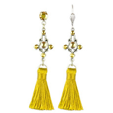 Anne Koplik Cassandra Tassel Earrings