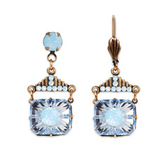 Anne Koplik Heavenly Blue Blythe Earrings