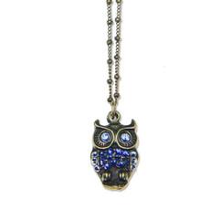 Anne Koplik Kappa Blue Owl Pendant