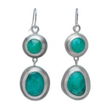 Nava Zahavi Silver Origins Earrings