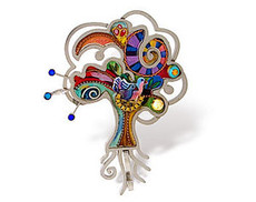 Judaica Pin Trees Of Life