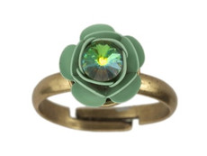 Negrin Jewelry Rose Adjustable Ring