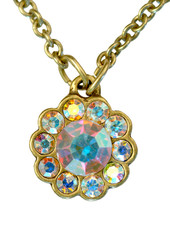 Jewelry Flower Necklace By Michal Negrin