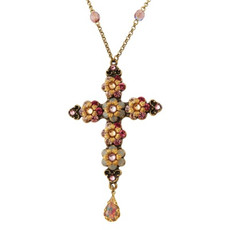 Michal Negrin Jewellery Cross Necklace