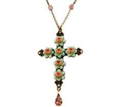 Michal Negrin Jewelry Crosses Necklace