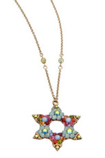 Michal Negrin Jewish Star Of David Necklace