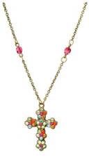 Michal Negrin Jewelry Cross Necklace