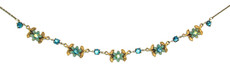 Michal Negrin Flowers Necklace (4089)