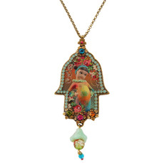 Jewish Hamsa Necklace By Michal Negrin
