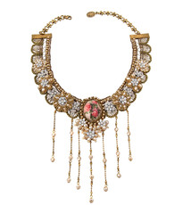 Michal Negrin Crystal Lace Necklace (4203)