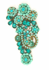 Michal Negrin Jewelry Turquoise Pin