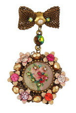 Michal Negrin Jewelry Victorian Pin