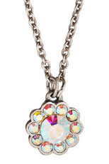 Michal Negrin Silver Flowers Necklace (4470)