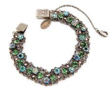 Michal Negrin Jewelry Silver Crystal Bracelet