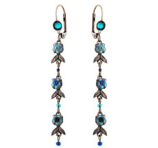 Michal Negrin Jewelry Silver Hook Earrings - 110-097191-009