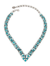 Michal Negrin Silver V Necklace