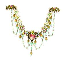 Michal Negrin Jewelry Flower Hair Brooch Accessories - 100-108240