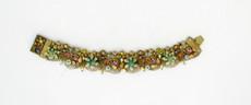 Michal Negrin Jewelry Crystal Flowers Bracelet - 100-108740