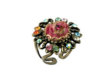 Michal Negrin Jewelry Flower Adjustable Ring - 100-109940-999