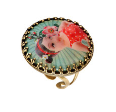 Michal Negrin Jewelry She Shy Ring (4753)
