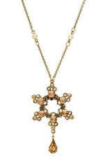 Star Of David Necklace From Michal Negrin Collection