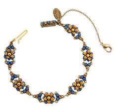 Michal Negrin Crystal Flower Bracelet (4865)