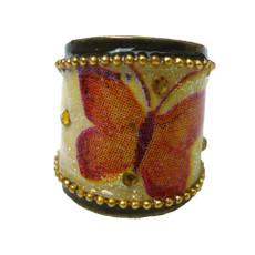 Iris Designs Butterfly Enamel Ring